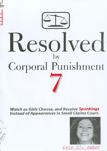 Resolved By Corporal Punishment 7 - Case 07: Amber Box Cover