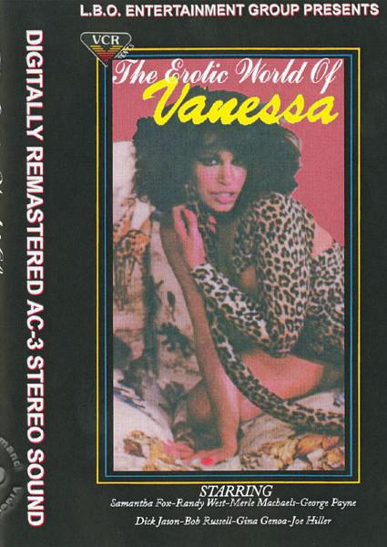 The Erotic World Of Vanessa Box Cover