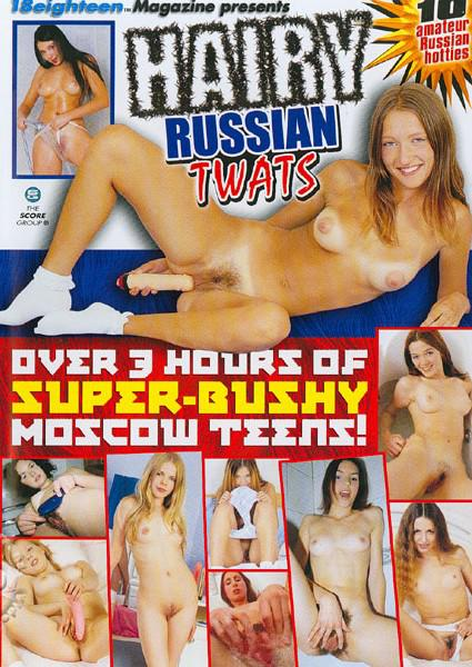 Hairy Russian Twats Box Cover