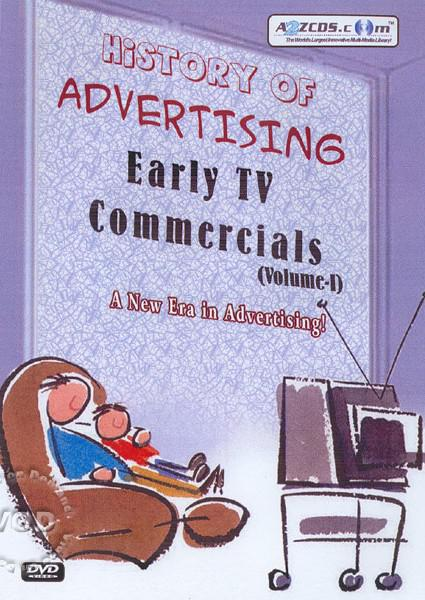 History Of Advertising: Early TV Commercials - Volume 1 Box Cover