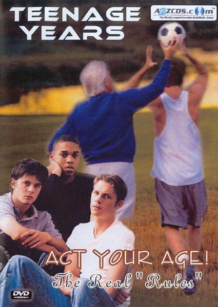 Teenage Years - Act Your Age! Dvd 1 Box Cover